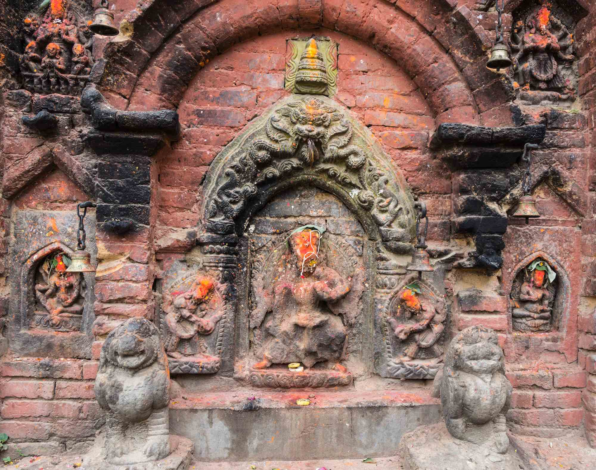 shrine Potters Square - Bhaktapur May 2018