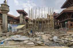 Vatsala Durga Temple ruins - work in progress May 2018