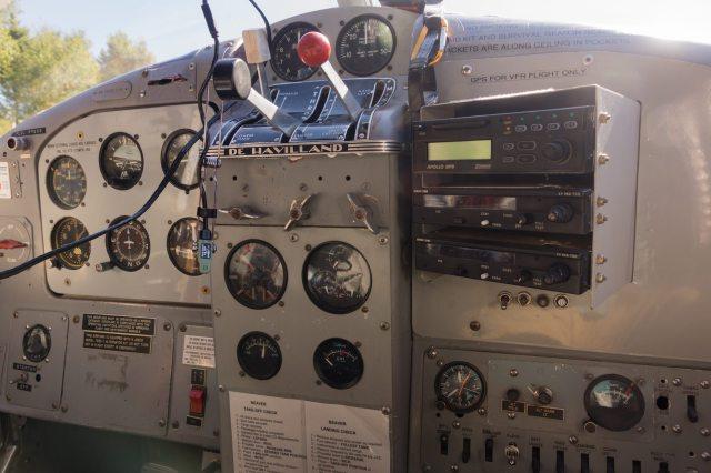 de Havilland Beaver control panel