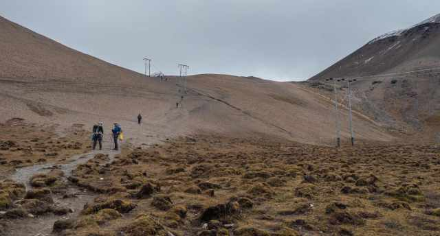 the final stretch up to Nyile La (4890m)