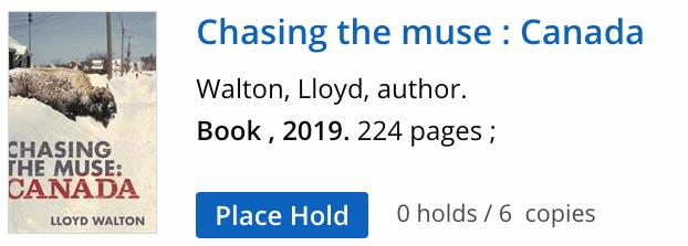 Lloyd Walton. Chasing The Muse. 2019.