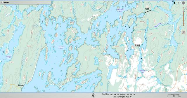 Savant Lake put-in to Endogoki Lake